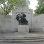 Belgium's Gratitude on the Victoria Embankment - erected following the First World War
