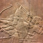 Ashurbanipal's Lion Hunt - amazing bas-reliefs from Nineveh.