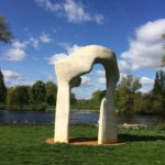 Henry Moore's 'Arch' in Kensington Gardens