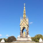 Albert Memorial, gladdens the heart in the sunshine!