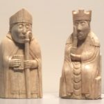 Lewis Chessmen in the British Museum - such wonderful expressions!