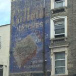 An old advertisement in Kilburn